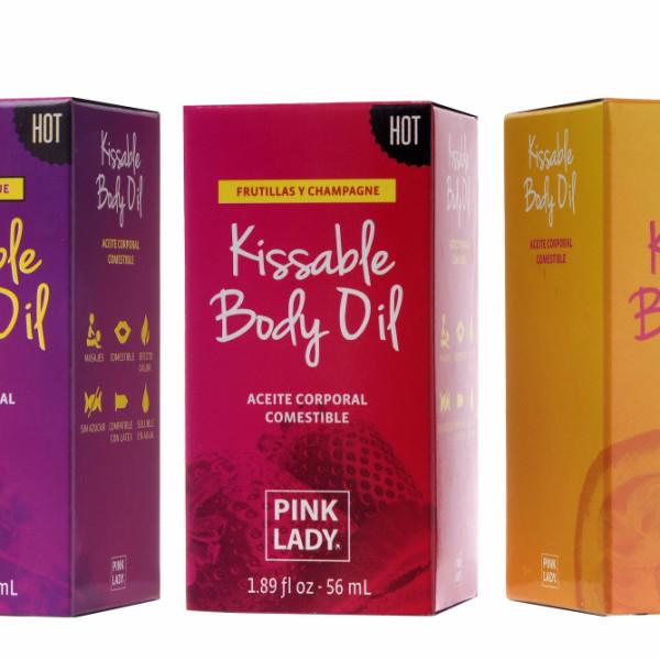 Passion Fruit kissable body oil