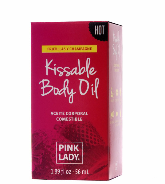 strawberries and champagne kissable body oil